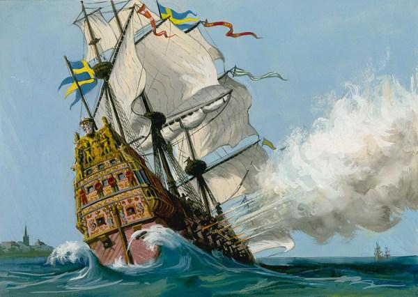 Swedish Vasa War Ship