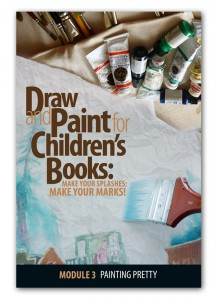 :Make Your Splashes - Make Your Marks! online course on illustrating children's books