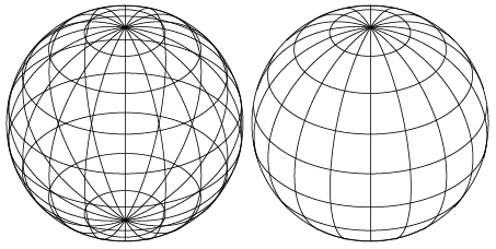 Opaque Wireframe Globe in Illustrator? : graphic_design