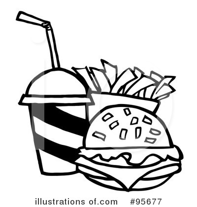Cheeseburger Coloring Pages Sketch Coloring Page