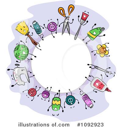 Crafts Clipart 1092923 Illustration By Bnp Design Studio