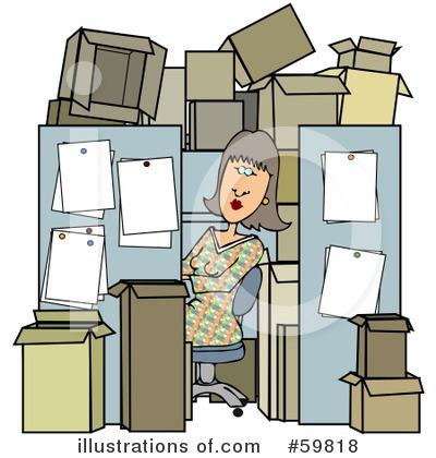 cubicle clipart #59818 - illustration