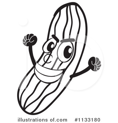 Cucumber Clipart 1133180 Illustration By Graphics Rf