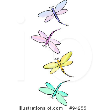 dragonfly clipart #94255 - illustration