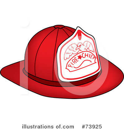 Royalty-Free (RF) Fire Department Clipart Illustration by Pams Clipart - Stock Sample #73925