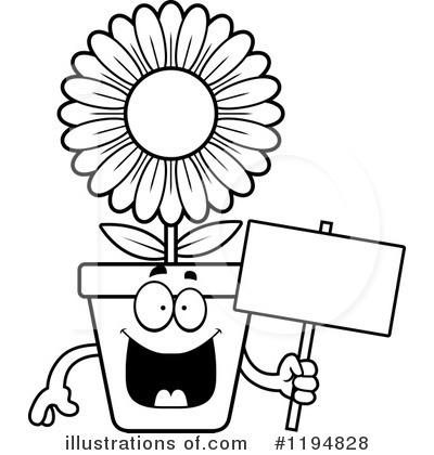 Flower Pot Clipart 1194828 Illustration By Cory Thoman