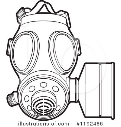 Ww1 Gas Mask Coloring Pages