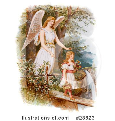guardian angel clipart 28823