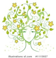 hair clipart #1115937 - illustration
