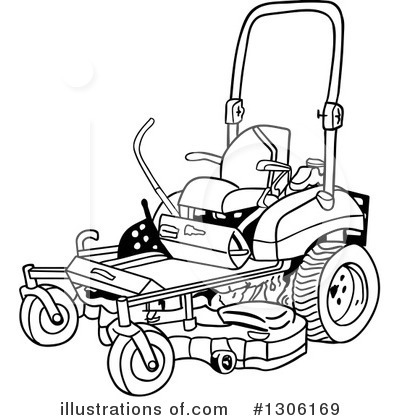 Riding Mower Coloring Coloring Pages