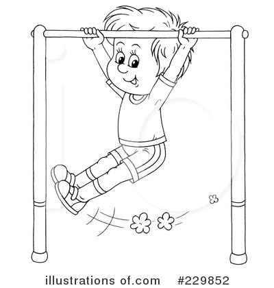 Monkey Bars Clipart 229852 Illustration by Alex Bannykh