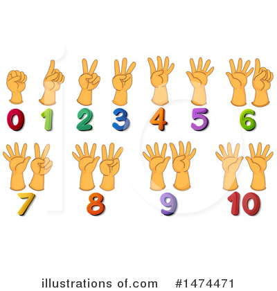 Numbers Clipart 1474471 Illustration By Graphics Rf