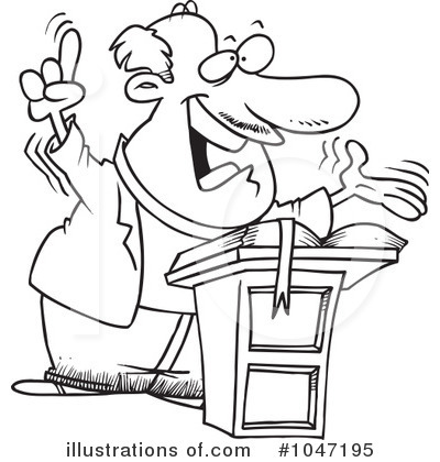 pastor Colouring Pages