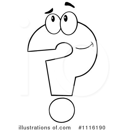 Gallery Question Clip Art Black And White