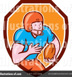 royalty free rf american football clipart illustration 1267187 by patrimonio [ 1024 x 1024 Pixel ]