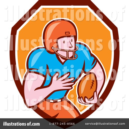 small resolution of royalty free rf american football clipart illustration 1267187 by patrimonio