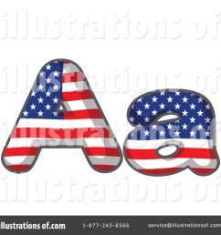 royalty free rf american letter clipart illustration by graphics rf stock sample [ 1024 x 1024 Pixel ]