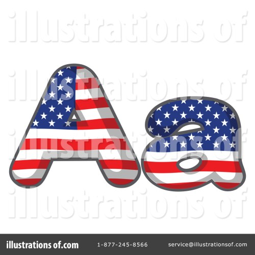 small resolution of royalty free rf american letter clipart illustration by graphics rf stock sample