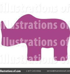 royalty free rf animal silhouette clipart illustration by alex bannykh stock sample [ 1024 x 1024 Pixel ]
