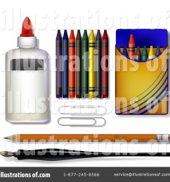 royalty free rf art supplies clipart illustration by leo blanchette stock sample [ 1024 x 1024 Pixel ]
