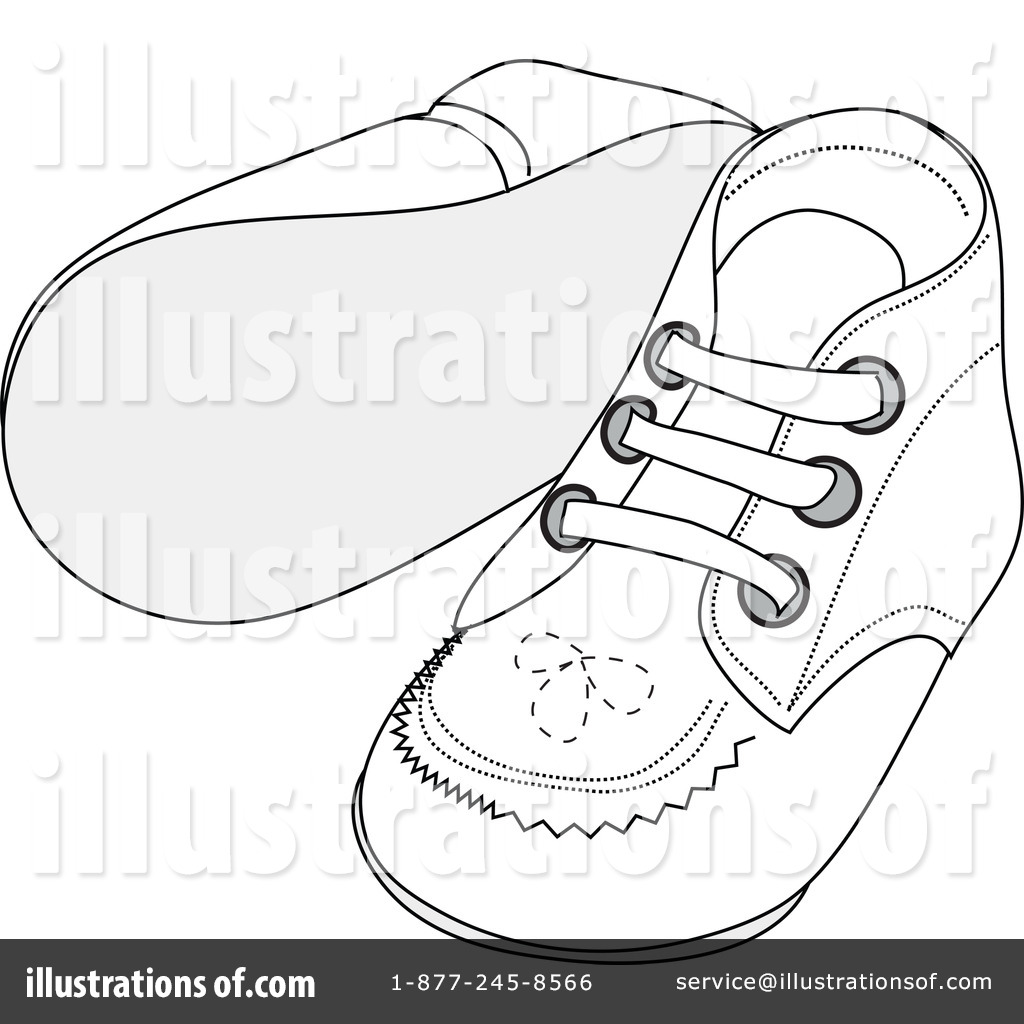 Baby Shoes Clipart