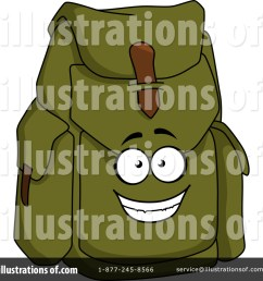 royalty free rf backpack clipart illustration by vector tradition sm stock sample [ 1024 x 1024 Pixel ]