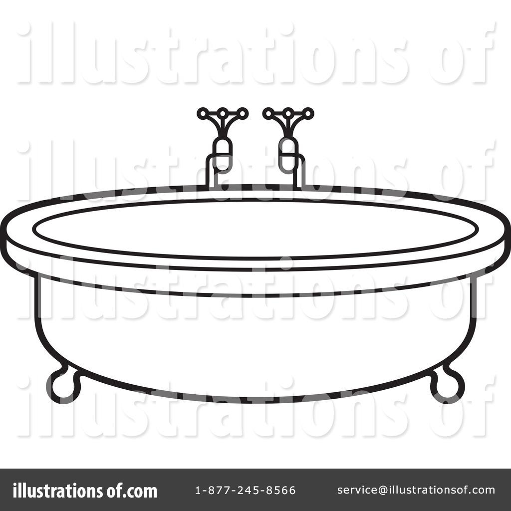 Bath Tub Clipart