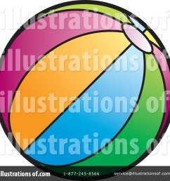 royalty free rf beach ball clipart illustration by lal perera stock sample [ 1024 x 1024 Pixel ]