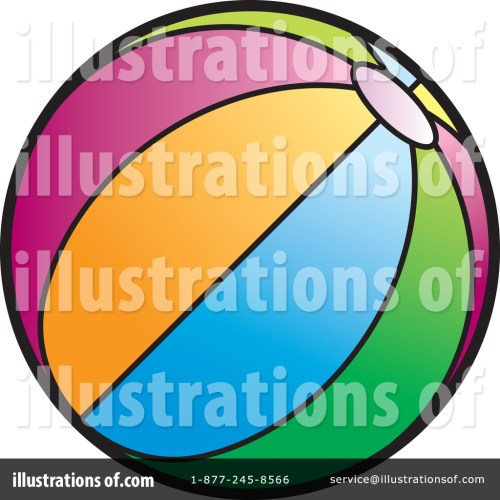 small resolution of royalty free rf beach ball clipart illustration by lal perera stock sample