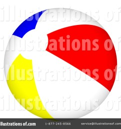 royalty free rf beach ball clipart illustration 61786 by shazamimages [ 1024 x 1024 Pixel ]