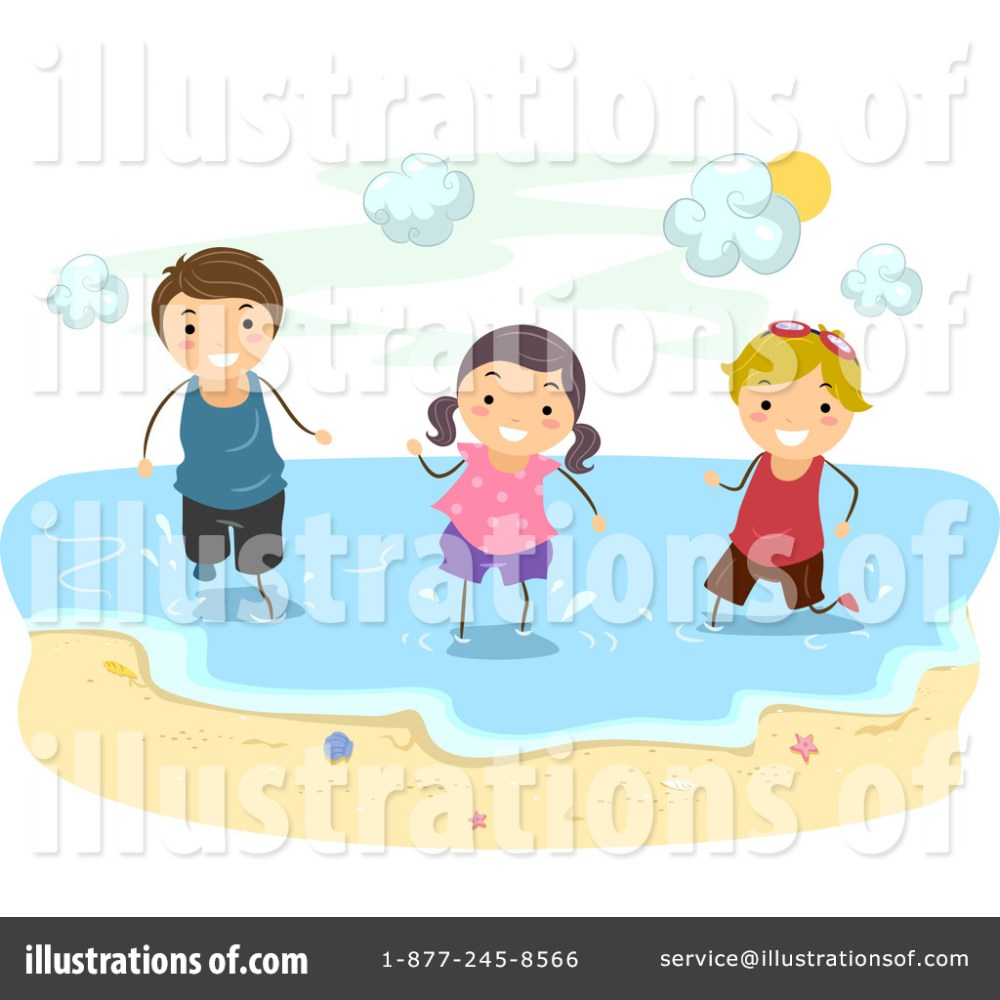 medium resolution of royalty free rf beach clipart illustration by bnp design studio stock sample