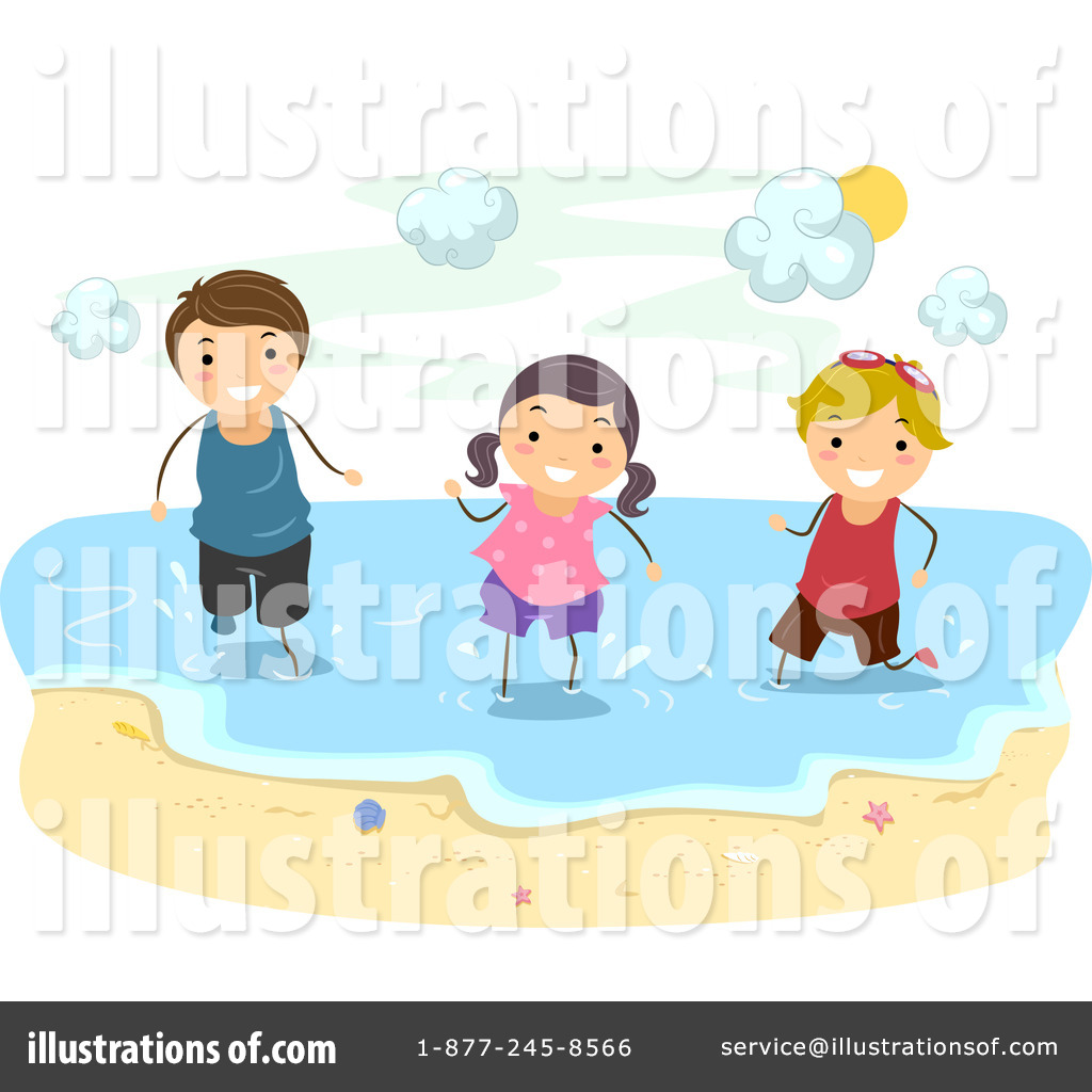 hight resolution of royalty free rf beach clipart illustration by bnp design studio stock sample