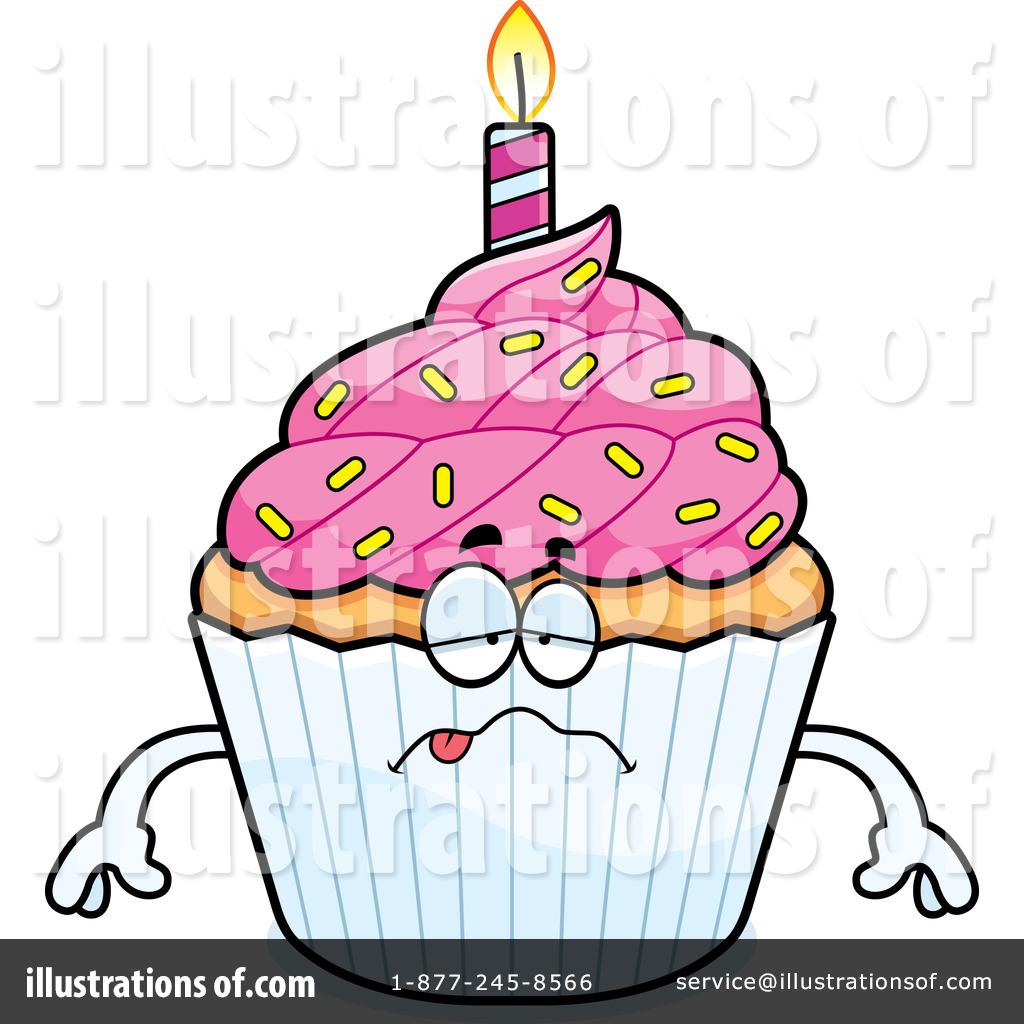 Birthday Cupcake Clipart 1211751 Illustration By Cory Thoman