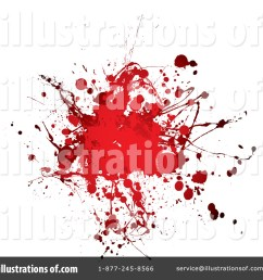 royalty free rf blood splatter clipart illustration 68883 by michaeltravers [ 1024 x 1024 Pixel ]