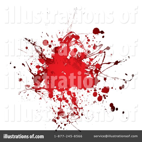 small resolution of royalty free rf blood splatter clipart illustration 68883 by michaeltravers
