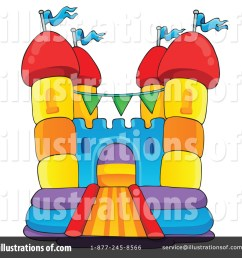 royalty free rf bounce house clipart illustration 1189547 by visekart [ 1024 x 1024 Pixel ]