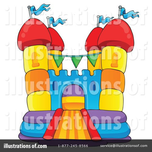 small resolution of royalty free rf bounce house clipart illustration 1189547 by visekart