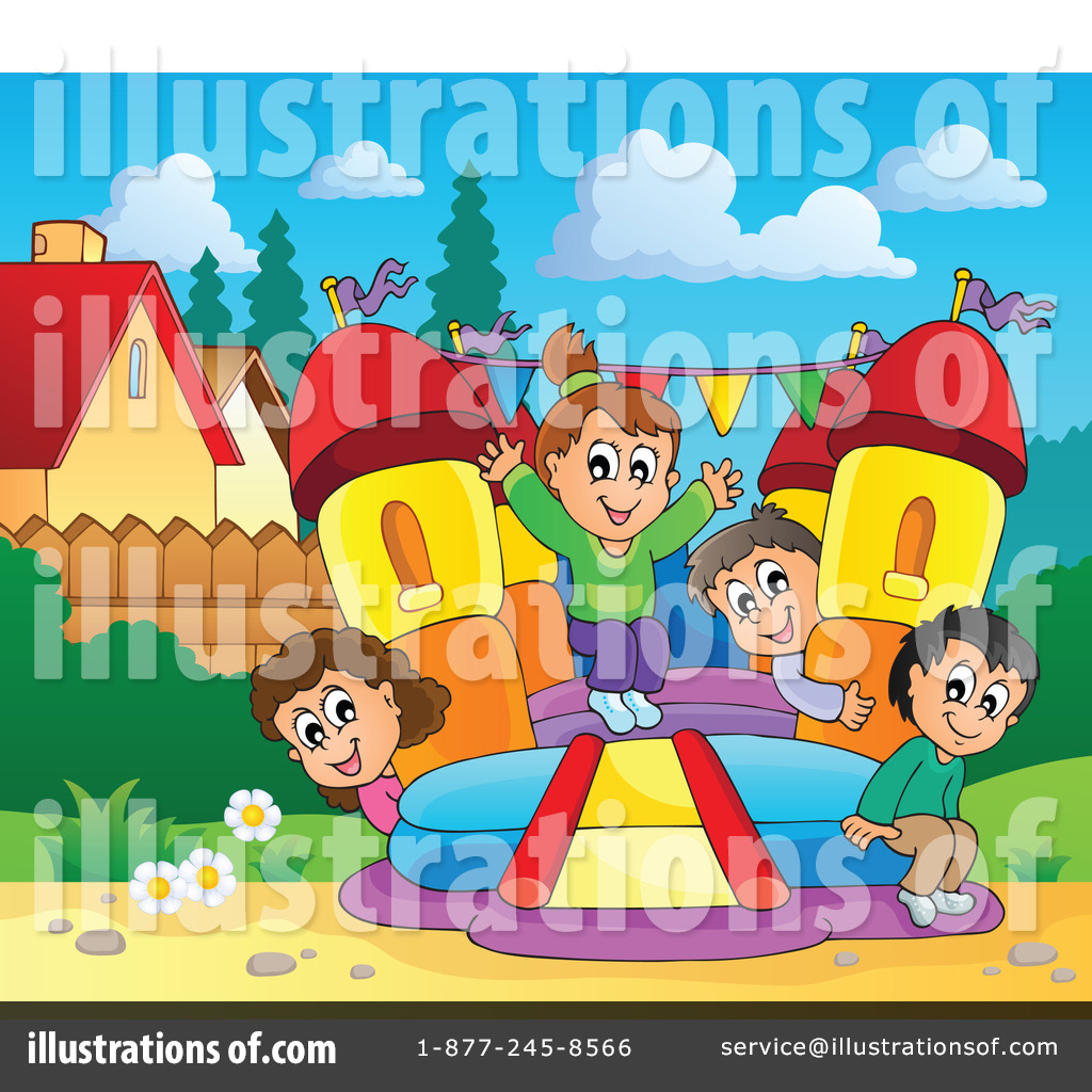 hight resolution of royalty free rf bounce house clipart illustration 1189639 by visekart