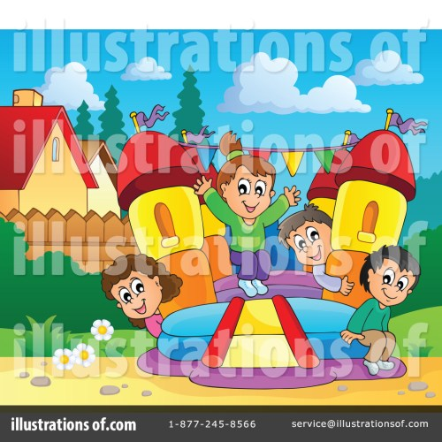 small resolution of royalty free rf bounce house clipart illustration 1189639 by visekart