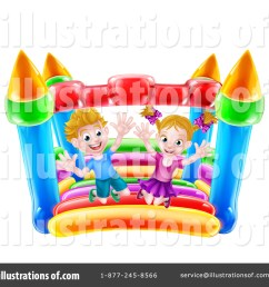 royalty free rf bouncy house clipart illustration 1365949 by atstockillustration [ 1024 x 1024 Pixel ]