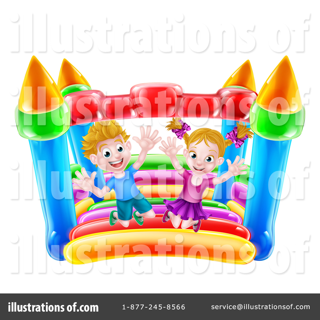 hight resolution of royalty free rf bouncy house clipart illustration 1365949 by atstockillustration