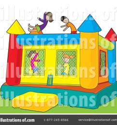 royalty free rf bouncy house clipart illustration by maria bell stock sample [ 1024 x 1024 Pixel ]