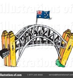 royalty free rf bridge clipart illustration by dennis holmes designs stock sample [ 1024 x 1024 Pixel ]