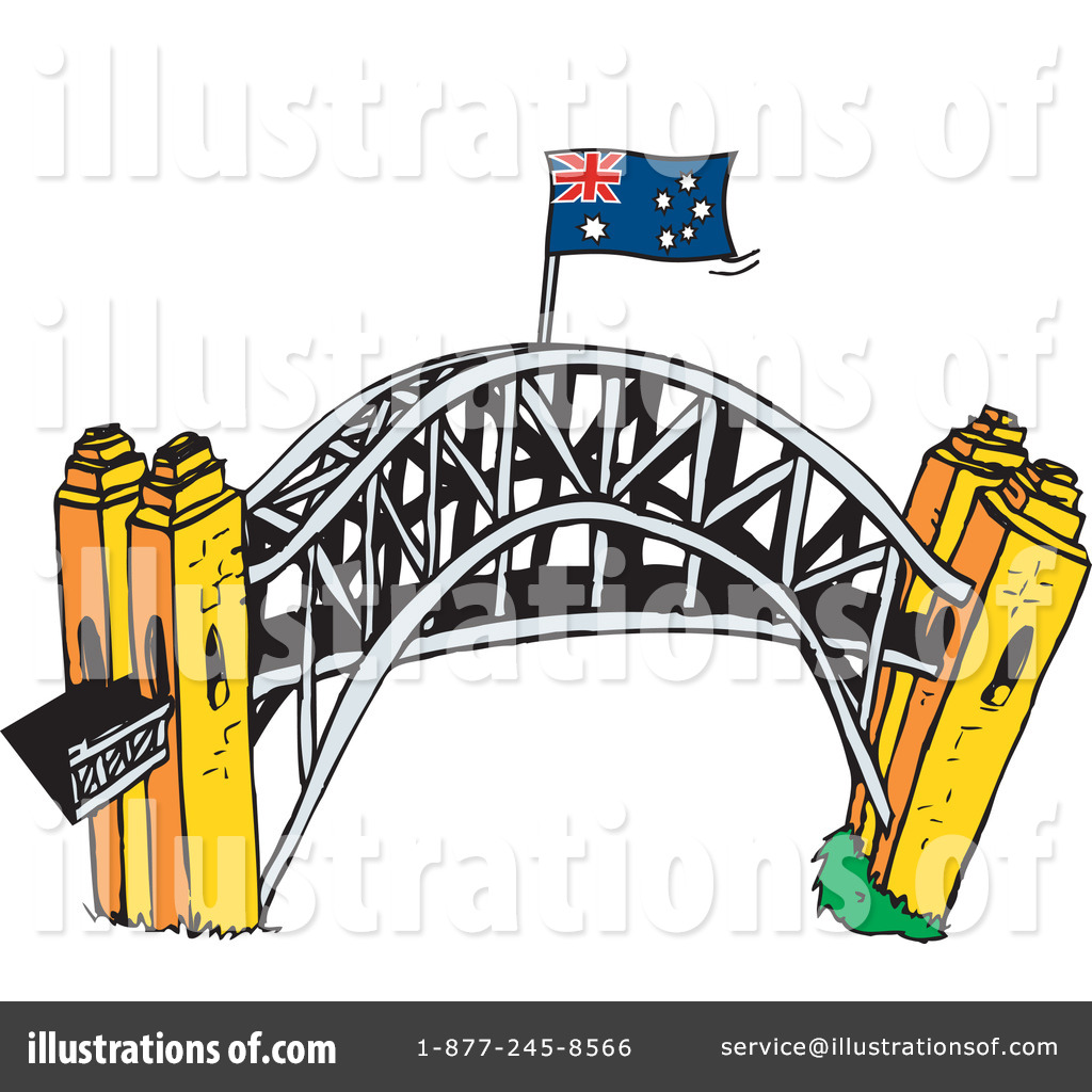 hight resolution of royalty free rf bridge clipart illustration by dennis holmes designs stock sample