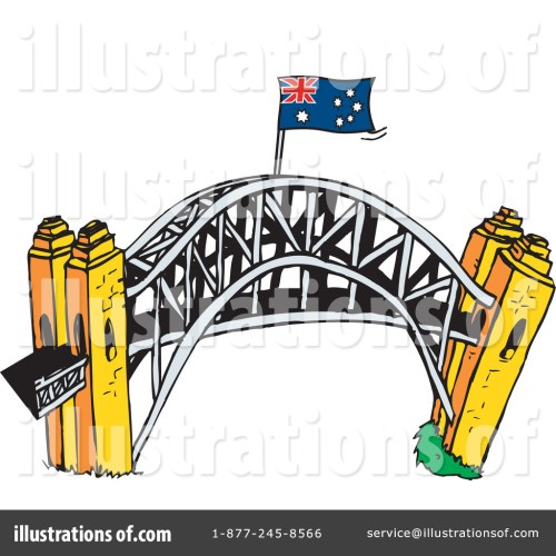 small resolution of royalty free rf bridge clipart illustration by dennis holmes designs stock sample