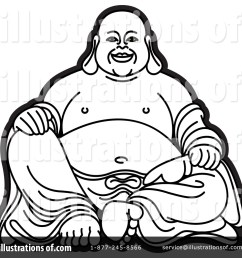 royalty free rf buddha clipart illustration 1169744 by lal perera [ 1024 x 1024 Pixel ]
