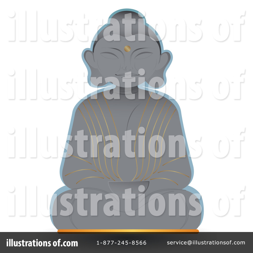 hight resolution of royalty free rf buddha clipart illustration 74595 by melisende vector