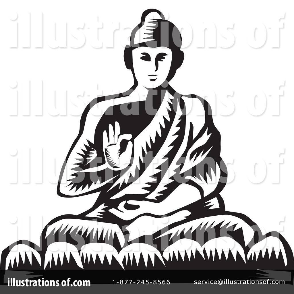 hight resolution of royalty free rf buddha clipart illustration 1416310 by patrimonio