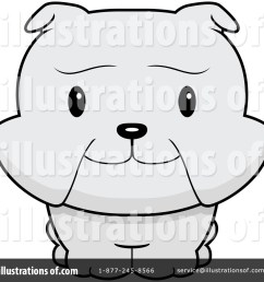 royalty free rf bulldog clipart illustration 94394 by cory thoman [ 1024 x 1024 Pixel ]