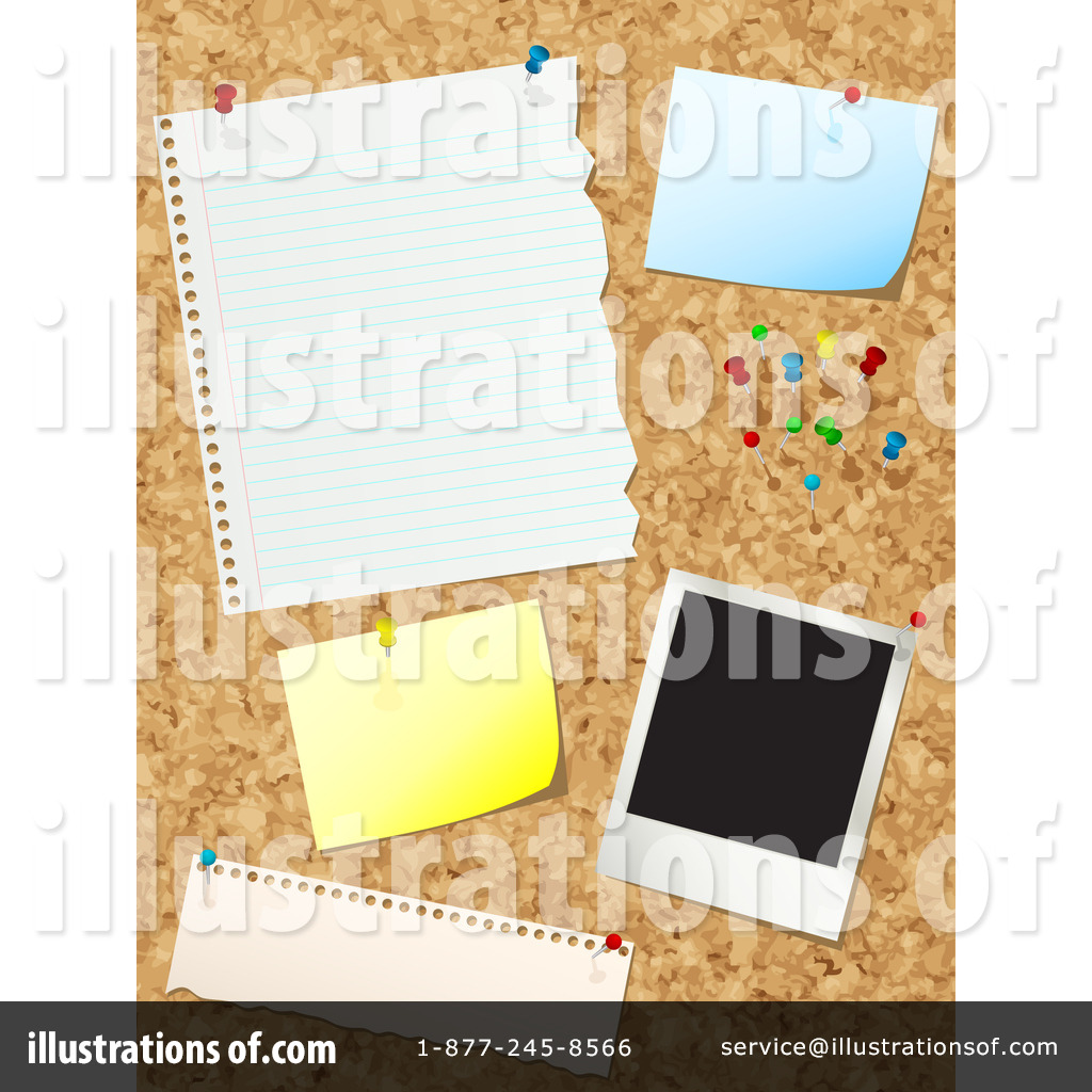 hight resolution of royalty free rf bulletin board clipart illustration by kj pargeter stock sample